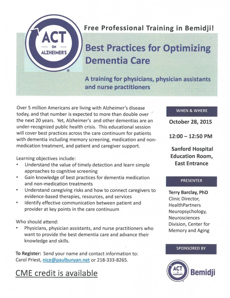 act training physicians